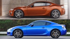 Subaru BRZ vs Toyota 86