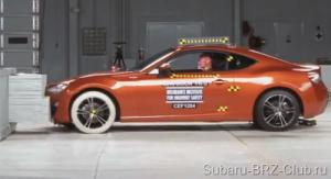 Краш тест Subaru BRZ